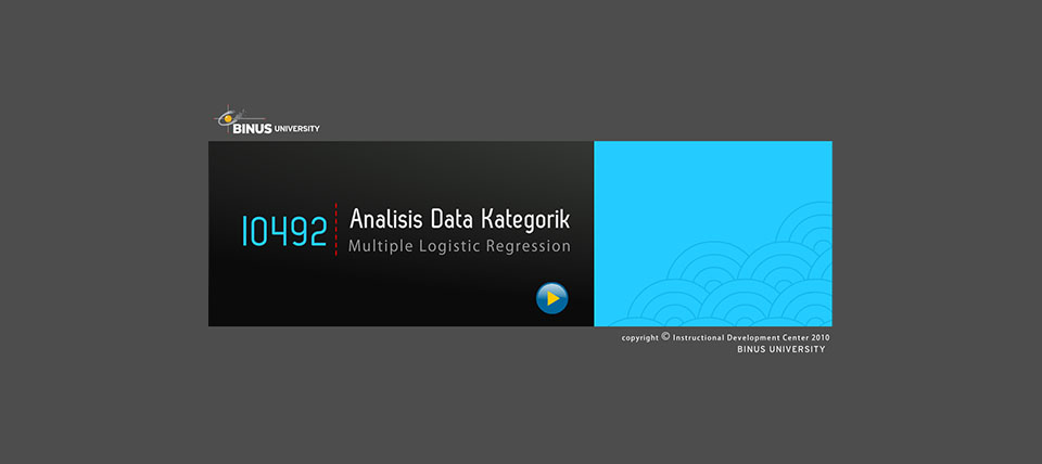 Analisa Data Kategorik - Multiple Logistic Regression